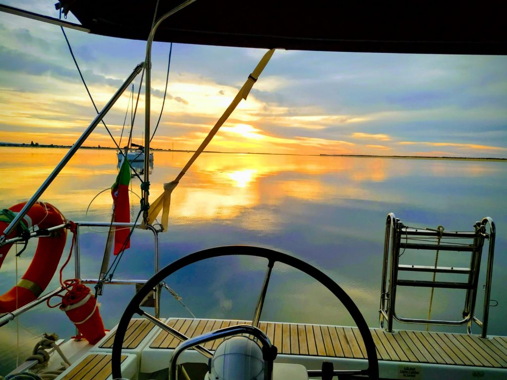 Increibles puestas de sol en la Costa de la Luz