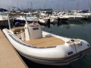 Semirrigida BWA 27 en Ibiza